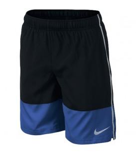 Pantalón corto para niño Nike As YA DIstance. Pantalón corto ideal para la práctica de cualquier deporte infantil en color azul. ¡Y con descuento!