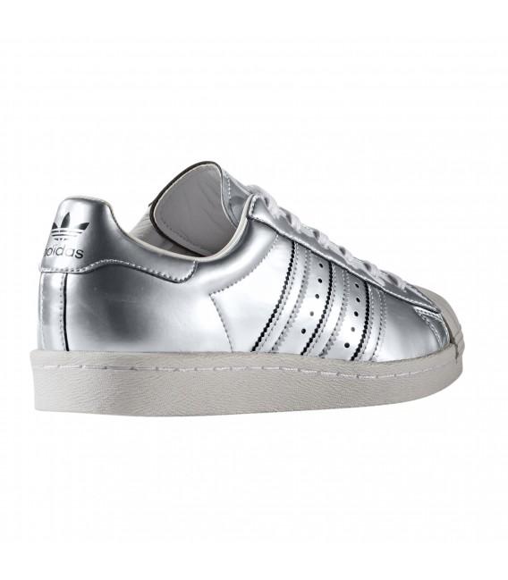 zapatillas mujer adidas superstar plata