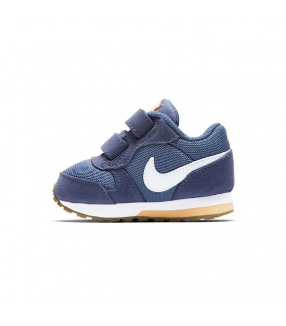 23b291ecec581 Zapatillas para niños Nike MD Runner 2 TDV en color azul