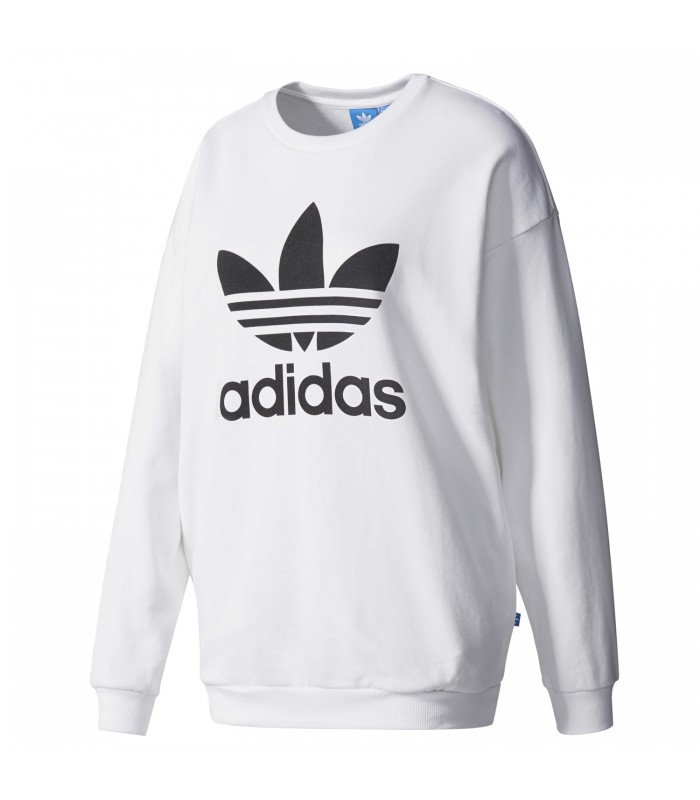 c8338cbd55ed1 Sudadera Adidas Trefoil Sweet