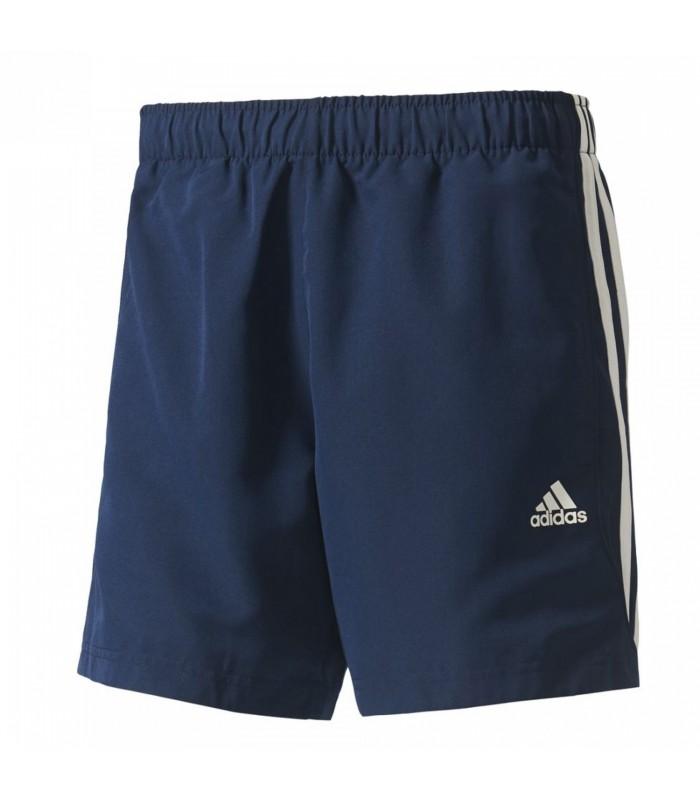 Pantalón corto Adidas 3 Bandas Sport Essentials Chelsea de color azul