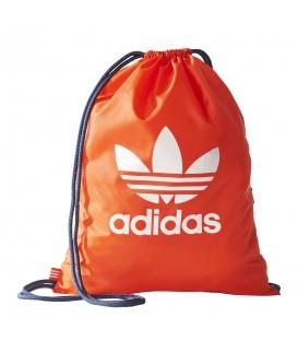 Saquito Adidas Trefoil BQ1496 de color naranja al mejor precio. Otros modelos de sacos de Adidas en chemasport.es