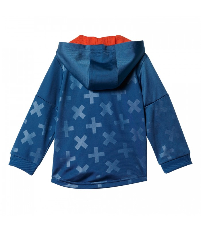 21a12868b Chándal Adidas Style Shiny Full Zip Hooded Jogger