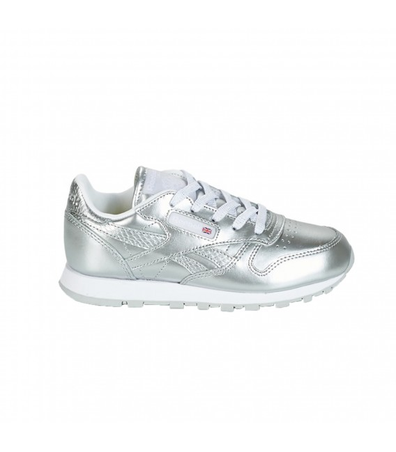 02f8e700d8574 Zapatillas Reebok Classic Leather Metallic