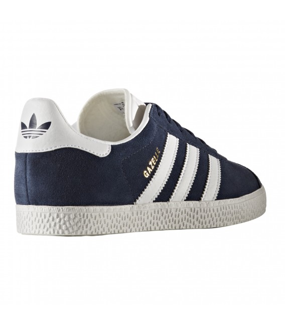 f110ffec3 ZAPATILLAS ADIDAS GAZELLE JUNIOR BY9144 AZUL MARINO