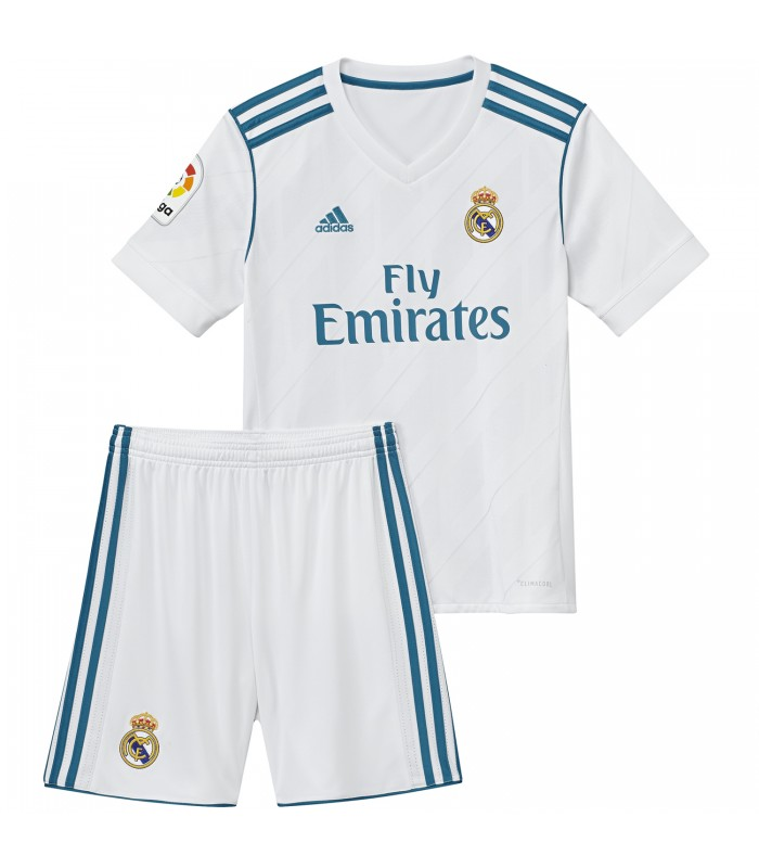 42c5b40f2a7cf Kit para niños Primera Equipación Real Madrid 2017 2018