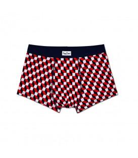 Bóxer Happy Socks Filled Optic FIO87-6000 en color rojo, blanco y azul marino. Boxers Happy Socks en Chema Sport y Chema Sneakers. Entra y descubre nuestro catálogo.