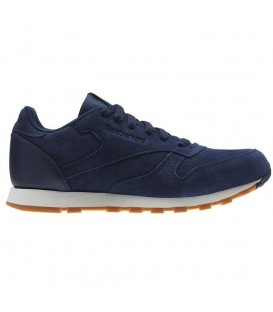 ZAPATILLAS REEBOK CL LEATHER SG BS8949 AZUL MARINO