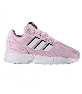 cheap for discount 9819f ab0ba Zapatillas Adidas ZX Flux EL I para niño de color rosa. Descubre la  colección de