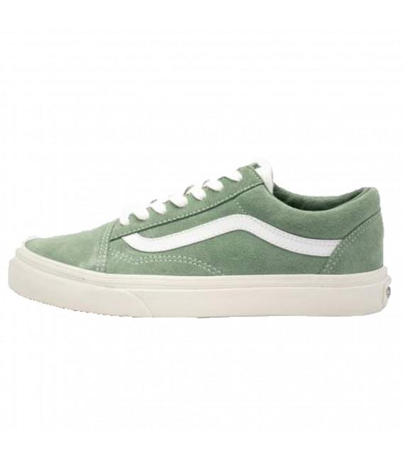 2vans mujer old skool verdes