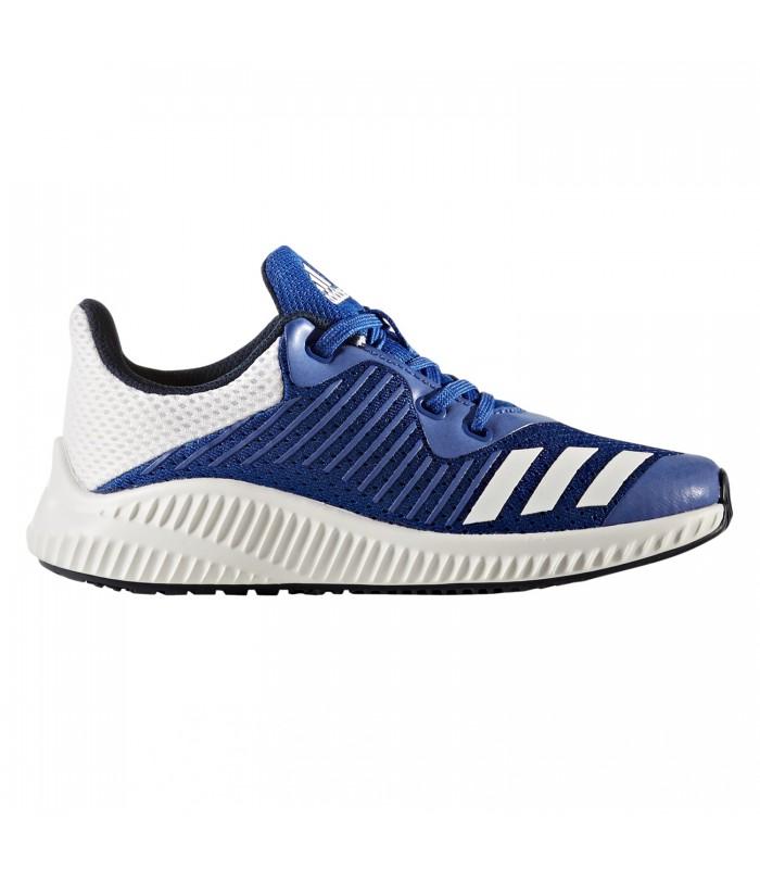 Zapatillas Adidas Fortarun Kids para niños en color azul y blanco