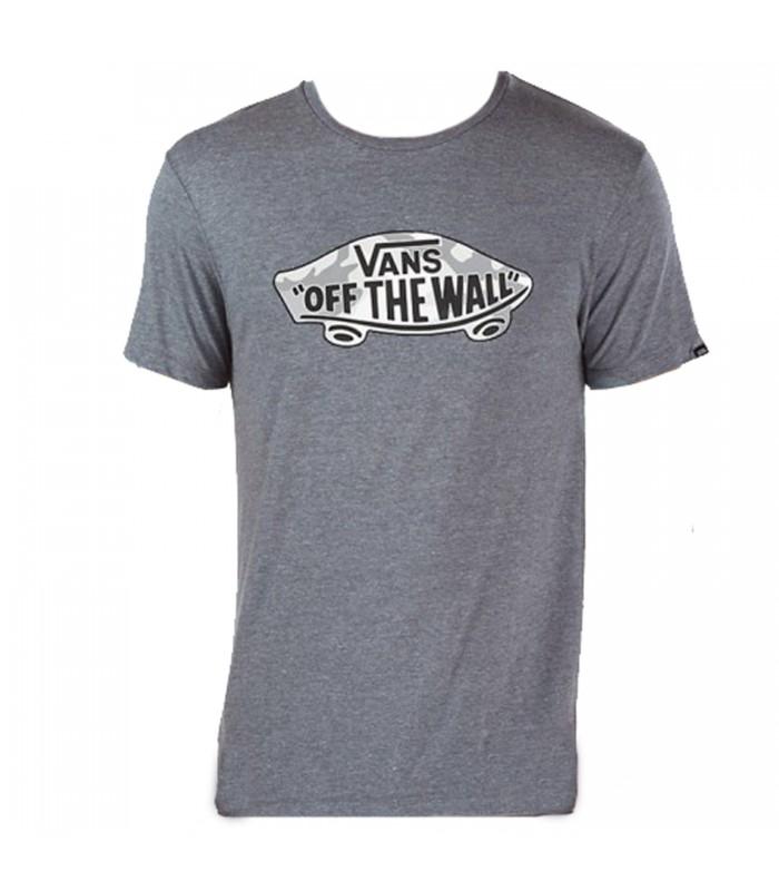 Camiseta Vans MN OTW Logo Fill de color gris para hombre af8211d360d9b